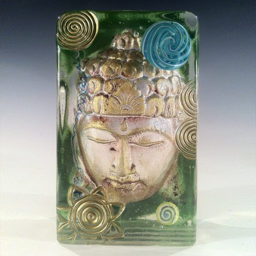 Buddha Headdress - Green